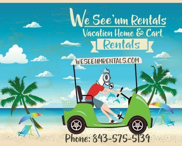 We See'Um Fripp Island, SC Vacation Home, Villa and Golf Cart Rentals